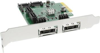 InLine PCIe SATA III (76617A)