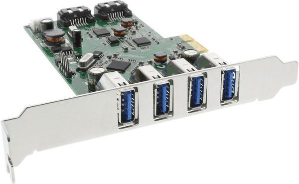 InLine PCIe USB 3.0 SATA III (76664C)
