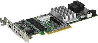 SuperMicro PCIe SAS III (AOC-S3108L-H8IR-16DD)