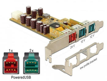 DeLock PCIe PoweredUSB 2.0 (89655)