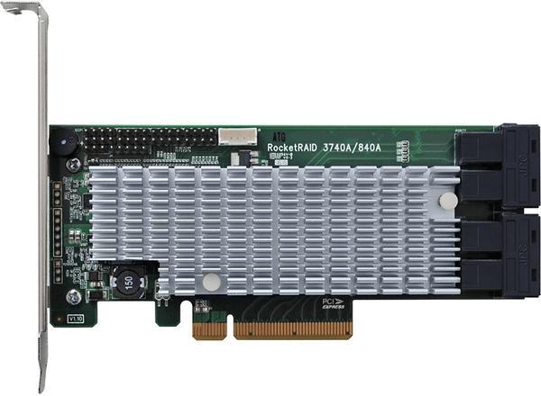 HighPoint PCIe SAS III (RocketRAID 840A)