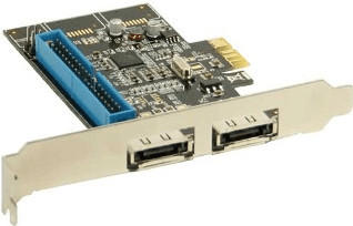 InLine PCIe eSATA III IDE (76614I)