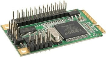 InLine mini PCIe Seriell Parallel (66903)