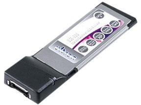 Ultron USE-400 (1-Port ExpressCard 34 eSATA II)