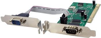 Startech StarTech 2 Port Serielle RS232 Schnittstellenkarte - duale Spannungsversorgung (PCI2S950DV)