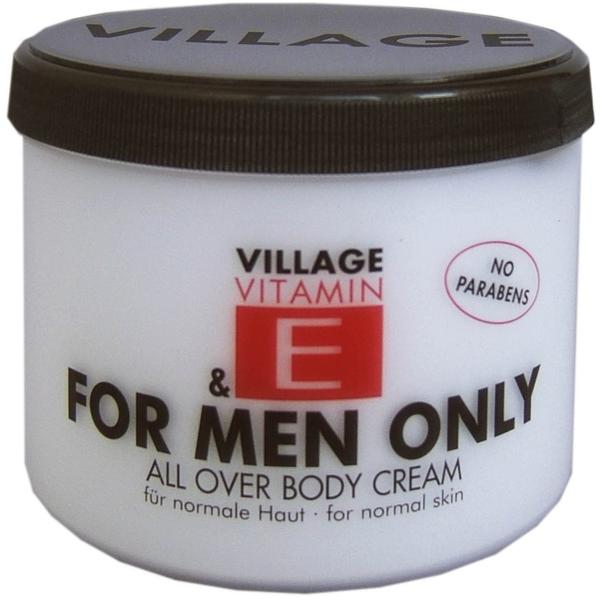 Village Vitamin E for Men Only Body Creme (500ml)