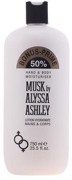 Alyssa Ashley Musk Hand & Body Lotion (750ml)