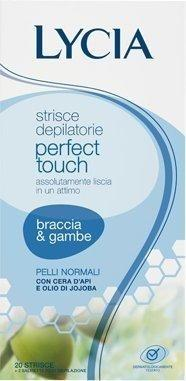 Lycia Perfect Touch hair Removal Stripes Arms and Legs (20 pcs.)
