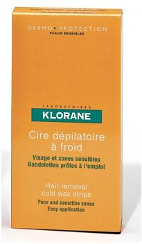 Klorane Cold Wax Small Trips with Sweet Almond (6 Stk.)