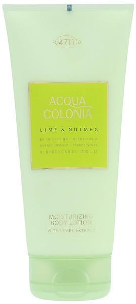 4711 Acqua Colonia Lime & Nutmeg Bodylotion (200ml)