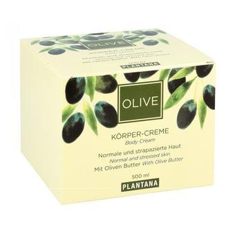 Plantana Olive Butter Körper Creme (500ml)