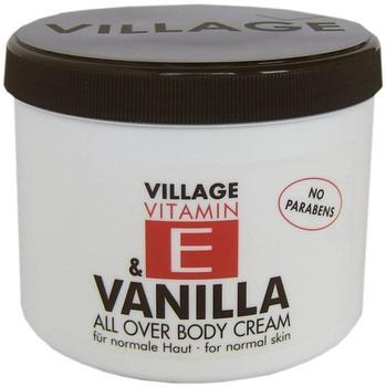 Village Vitamin E Bodycream Vanilla (500ml)