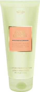 4711 Acqua Colonia White Peach & Coriander Moisturizing Body Lotion (200ml)