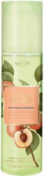 4711 Acqua Colonia White Peach & Coriander Refreshing Body Spray (75ml)