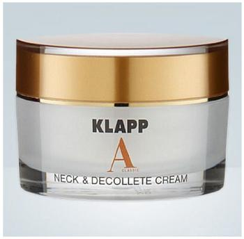 Klapp A Classic Neck & Décolleté Cream (50ml)