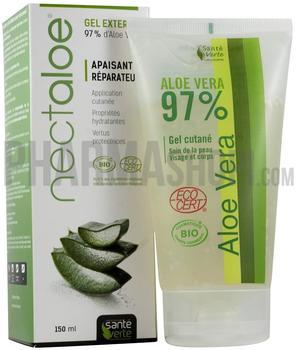 Santé verte Aloe Vera Organic Gel 97% (150 ml)