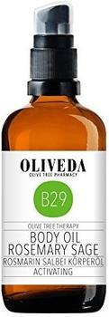 Oliveda Rosmarin-Salbei Körperöl (100ml)