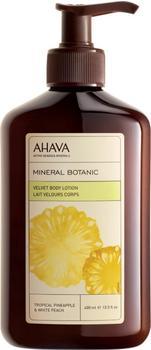 Ahava Mineral Botanic Velvet Body Lotion Tropical Pineapple & White Peach (400ml)