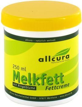 Allcura Melkfett Creme mit Ringelblumen ohne Vaseline (250ml)