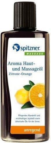 Spitzner Aroma Haut- und Massageöl Zitrone-Orange (190ml)