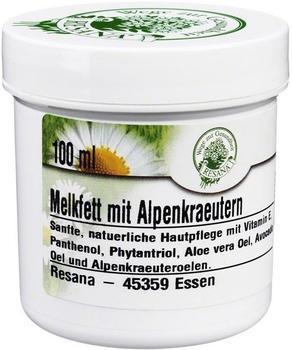Resana Melkfett mit Alpenkräutern (100ml)