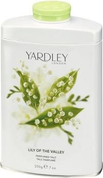 Yardley London Lily of the Valley Perfumed Talc (200g)