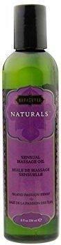 Kama Sutra Naturals Island Passion Berry Sensual Massage Oil (236ml)