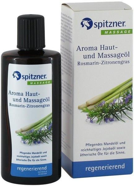 Spitzner Aroma Haut- und Massageöl Rosmarin-Zitronengras (190ml)