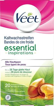 Veet Kaltwachsstreifen Essential Inspirations (20 Stk.)