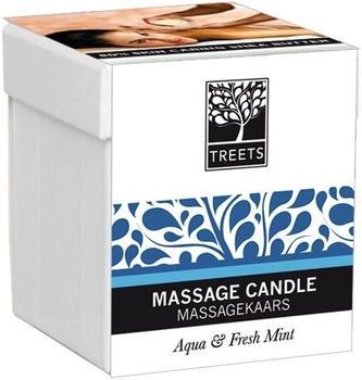 Treets Massage Candle Aqua & Fresh Mint (140g)