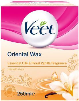 Veet Oriental Wax Essential Oils & Floral Vanilla Fragrance (250ml)