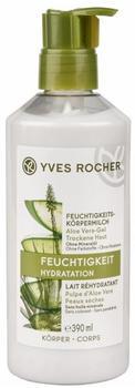 Yves Rocher Feuchtigkeits-Körpermilch Aloe Vera-Gel Trockene Haut