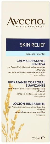 Aveeno Skin Relief Body Moisturizing Lotion (200ml)