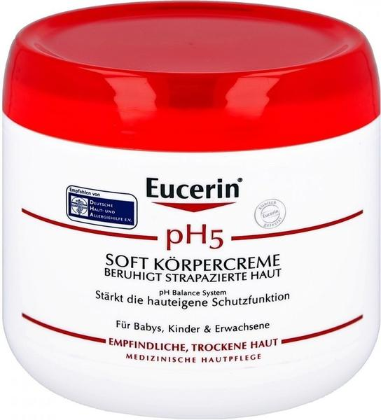 Eucerin pH5 Soft Körpercreme (450ml)