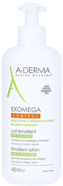 A-Derma Exomega Control Intensiv Körpermilch (400ml)