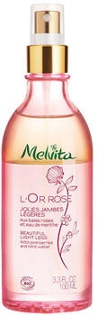 Melvita L'Or Rose Beautiful Light Legs (100 ml)