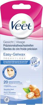 Veet Gesicht Präzisionskaltwachsstreifen Easy-Gelwax