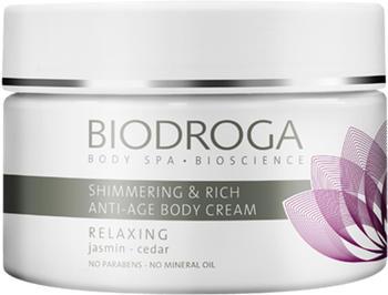 Biodroga Shimmering & Rich Anti-Age Body Cream (200ml)