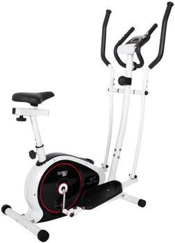 CHRISTOPEIT Crosstrainer Heimtrainer 2 in 1 CT 4, 30-1804