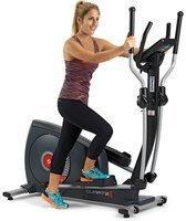 BH Fitness BH Quartz II Crosstrainer Ellipsentrainer Fitness Apps 14 kg Schwungmasse schwarz G2381iFD