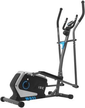 ISE Crosstrainer Ellipsentrainer für Zuhause Ellipsen Ergometer Elliptisch Heimtrainer mit Schwungmasse,8 Widerstandsstufen, Max. 120KG, SY-9801
