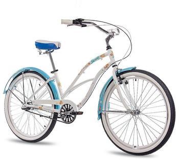 CHRISSON Sandy 26 Zoll RH 41 cm Damen weiß/blau
