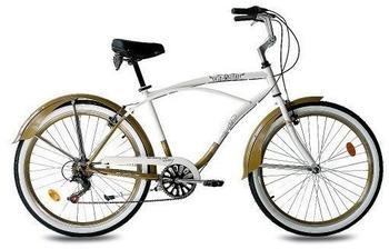 KCP Easy Rider Gent 2.0 26 Zoll RH 48 cm gold/weiß