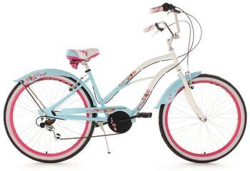 KS-CYCLING Cherry Blossom 26 Zoll RH 42 cm Damen hellblau