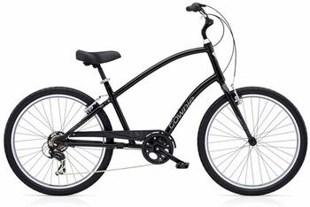 Electra Townie Original 7D tall mens black unisize