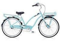 "Electra Daydreamer 3i Damen Fahrrad 26"" Blau Tray Beach Cruiser Rad Retro Naben Schaltung"