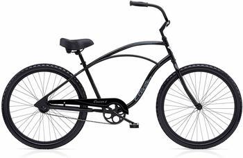 "Electra Cruiser 1 Tall Herren Fahrrad 26"" Schwarz Beach Cruiser Rad Retro Singlespeed"