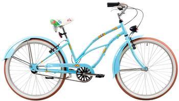 tretwerk DIREKT gute Räder Fiona Damen Beachcruiser 26 Zoll, Damen-Fahrrad 1 Gang