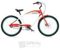 Electra Ebc93 3i Cruiser Herren Fahrrad Stadt Cruiser Retro Ladies Aluminium Rad Bike