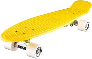 """Ridge 27"""" Big Brother Mini Cruiser Board gelb"""
